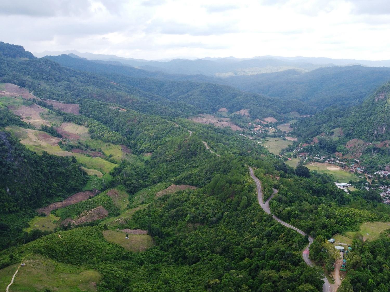 Northern Thailand mountain village