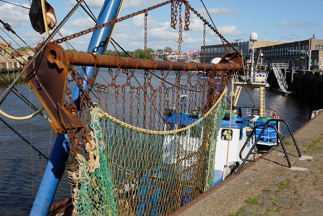 De Rambler in de haven van Nieuwpoort