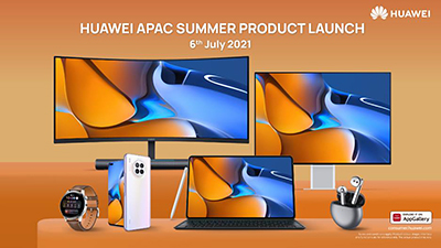 The following products were launched: Huawei nova 8i smartphone, Huawei MatePad series tablets (MatePad Pro 12.6-inch, Huawei MatePad Pro 10.8-inch and Huawei MatePad 11), Huawei Watch 3 series smartwatch, Huawei FreeBuds 4, and two Huawei MateView monitors.