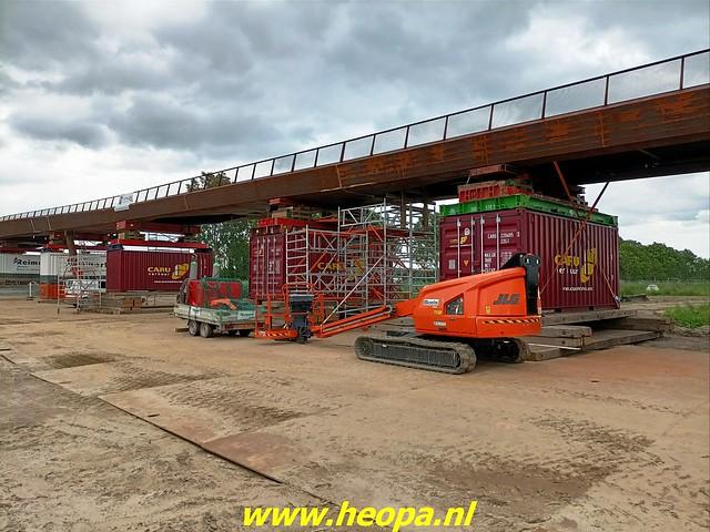 2021-07-07    fiets en voetgangersbrug over de Hogevaart Waterlandseweg  (met toestemming gemaakt (1)