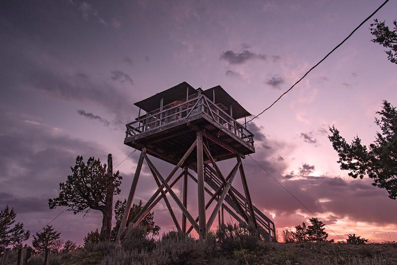 Sunset at Fall Mountain