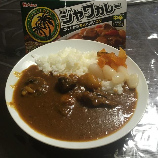 スペシャルジャワカレー!