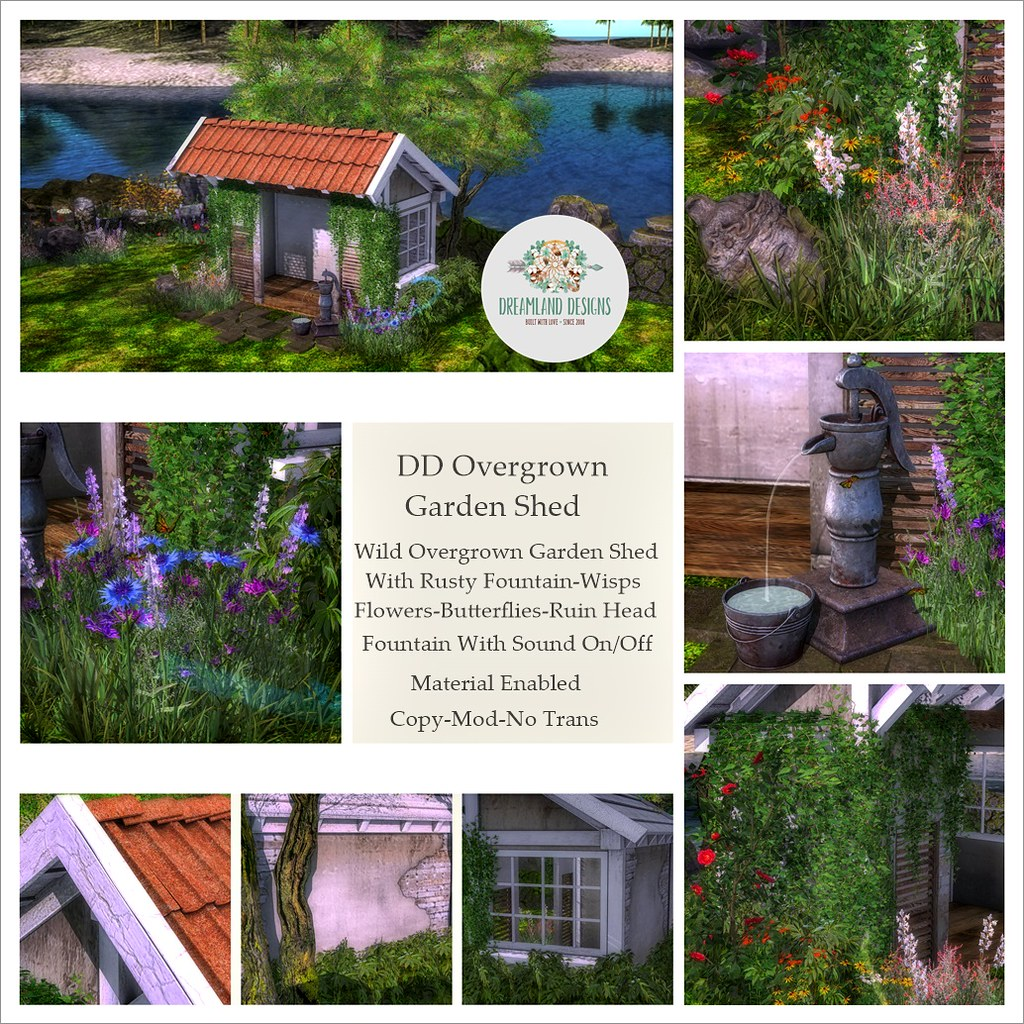 DD Overgrown Garden Shed AD