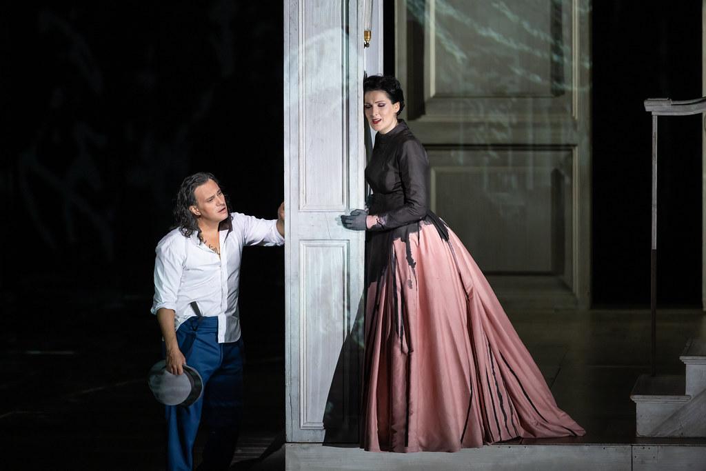 Erwin Schrott and Adela Zaharia in The Royal Opera's Don Giovanni