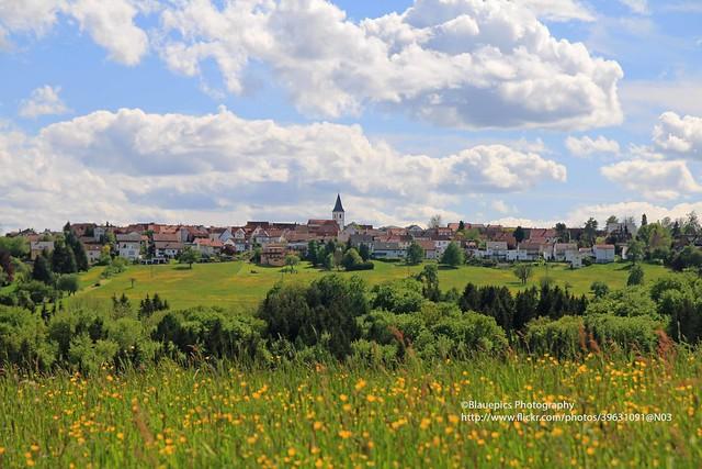 Hohengehren, view to Baltmannsweiler