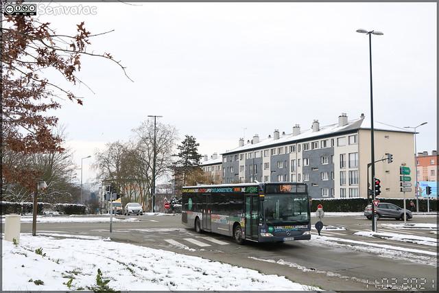 Mercedes-Benz Citaro – Keolis Laval / TUL (Transports Urbains Lavallois) n°308 ex Transports Daniel Meyer n°644, Keolis Seine-Essonne n°582 et Keolis Orly Airport n°3008