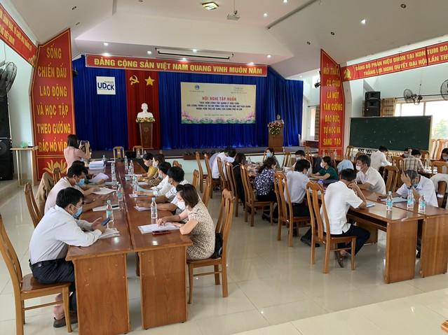 Tập huấn thực hiện công tác quản lý đấu thầu các công trình CSHT tại các xã ĐBKK thuộc Chương trình 135