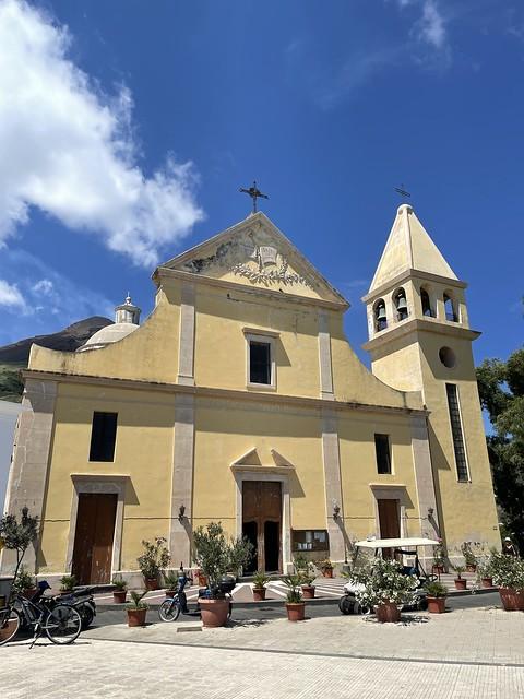 Kirche San Vincenzo Ferreri auf Stromboli
