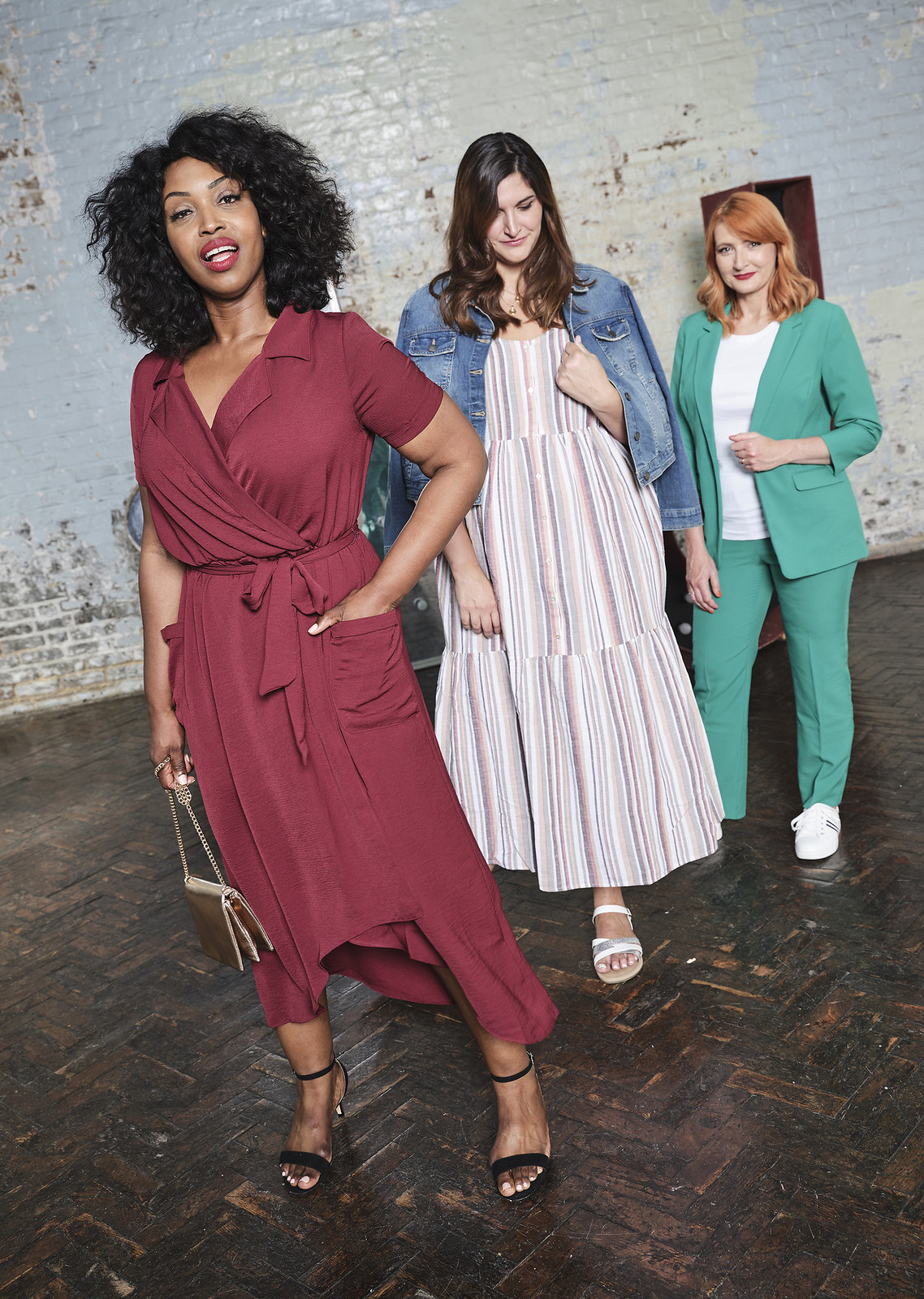 Why I Turned Down a 4-Figure Fee Over Diversity (or Lack of): Catherine Summers AKA Not Dressed As Lamb modelling for JD Williams with two other models/influencers