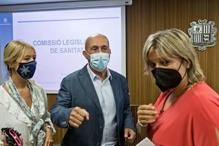 Compareixença M.I.Sr. Joan Martínez Benazet. 06/07/2021