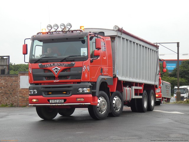 Foden Alpha SY52 UGO Late 2002 Ian W Bentley Bulk Transport Limited Sir Captain Tom Moore Charity Convoy Stockyard Truckstop M18