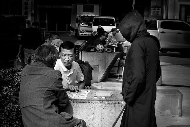 An Ominous Position, Chinese Chess, Cabramatta Market, Sydney