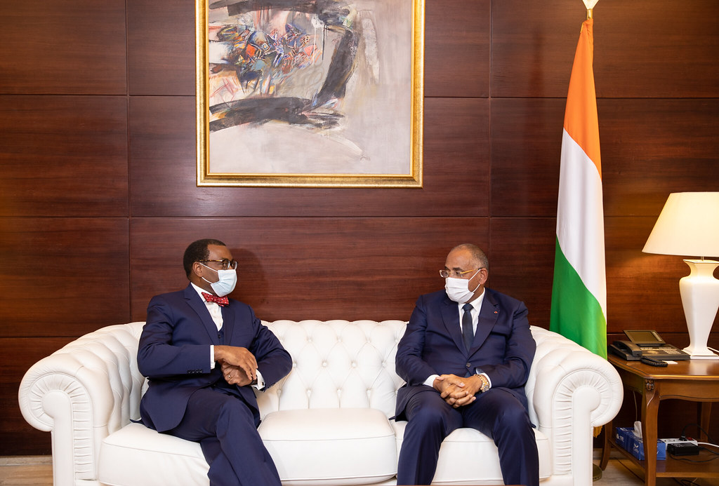 Meeting with Prime Minister of Côte d'Ivoire