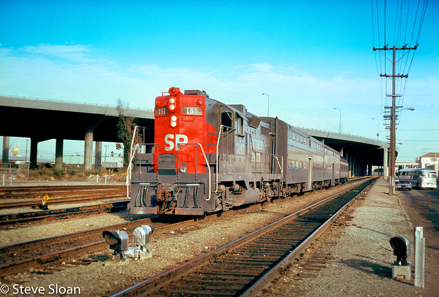 SP 3187 on commute 151, 1976