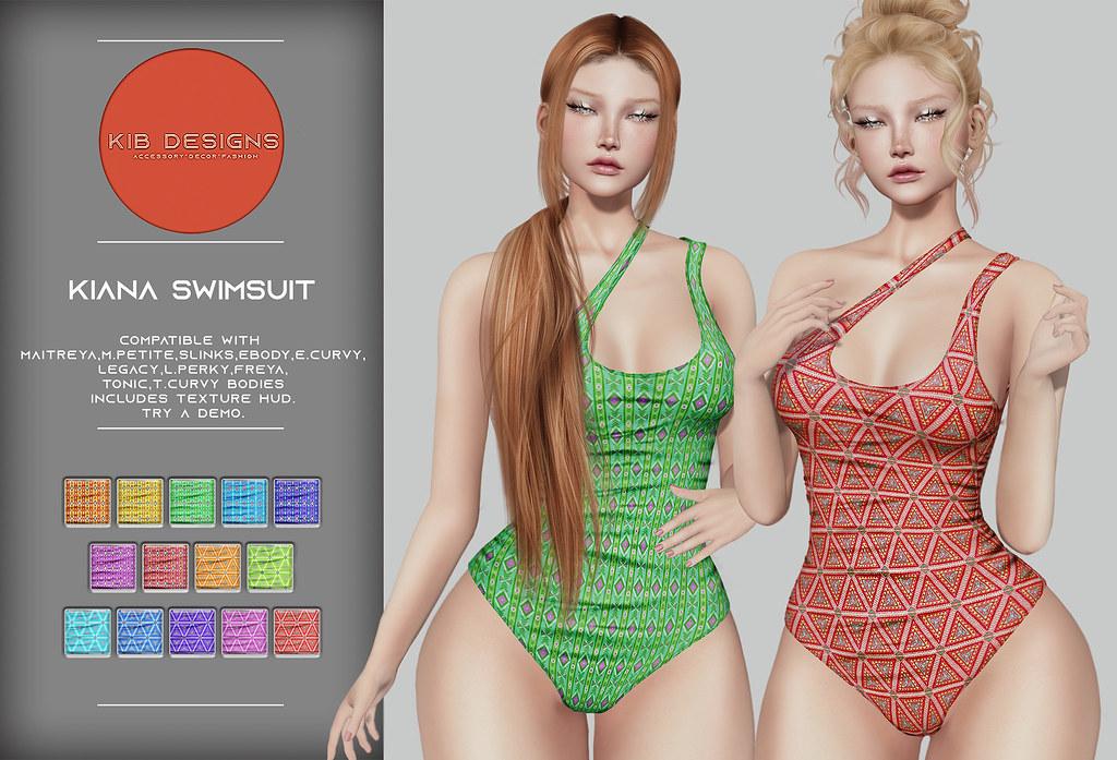 KiB Designs – Kiana Swimsuit @ORSY Event 9th July