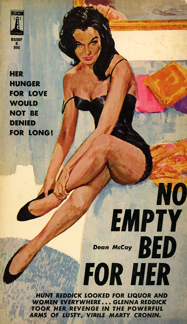Beacon Books B550F - Dean McCoy - No Empty Bed for Her