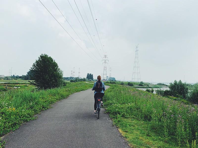 pyöräily Antwerpen