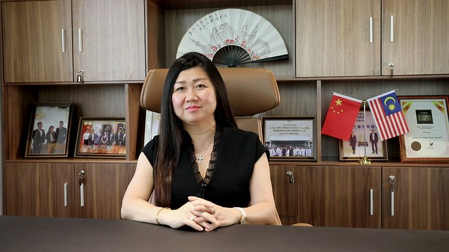 Dato Leong Sir Ley Founder and Chairman of Sheng Tai International 1