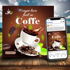 coffe house social media post