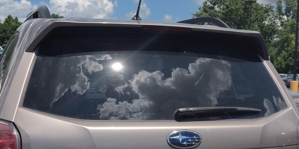 Clouds in the Car