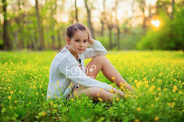 Girl's spring portrait