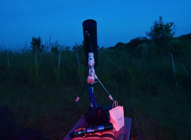 """VCSE - A """"Makrancos"""" már észlelésre készen - Fotó: Szalontai Tibor"""