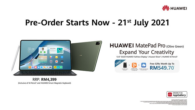Huawei Matepad Pro (Olive Green) Pre-Order