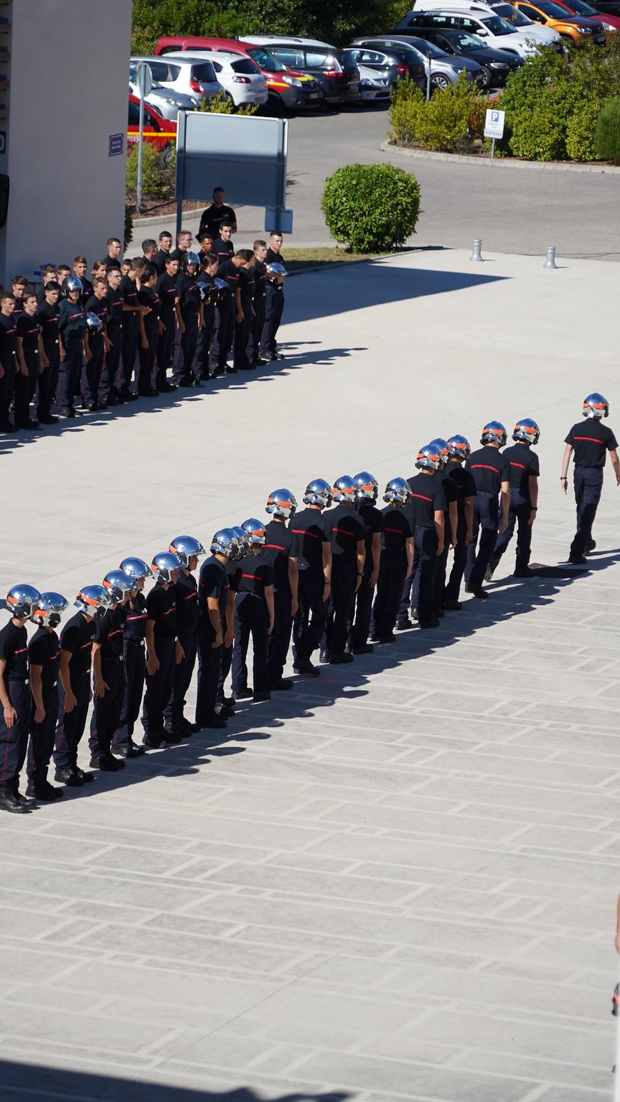 Remise de casques aux jeunes Pompiers13