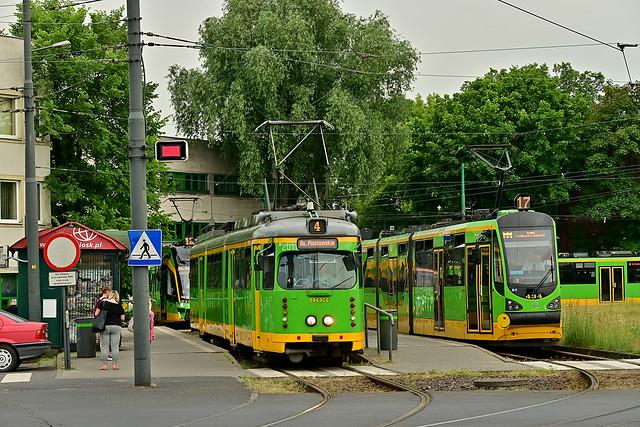 Düwag GT8ZR #903 Moderus Beta #434 MPK Poznań