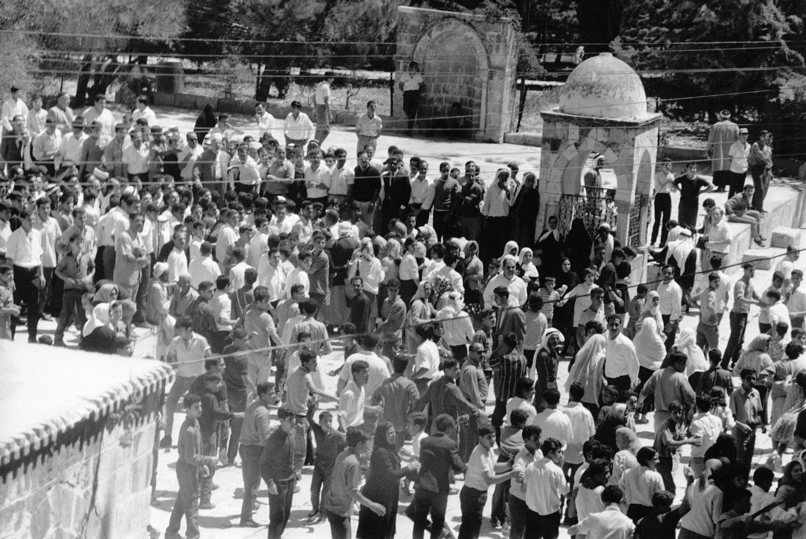 09. Манифестация арабов возле мечети Аль-Акса. 21 августа