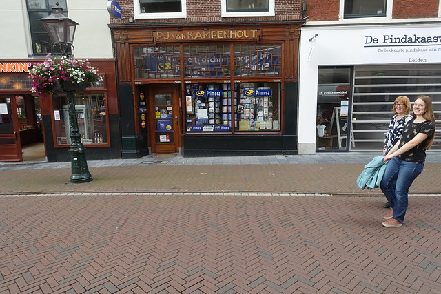 Walking around in Leiden