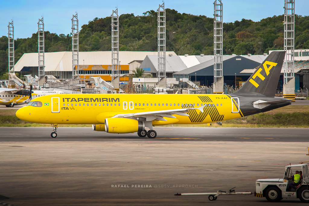 PS-AAF - A320 - Airbus A320-232 - Itapemirim Transportes Aereos (Brazil)