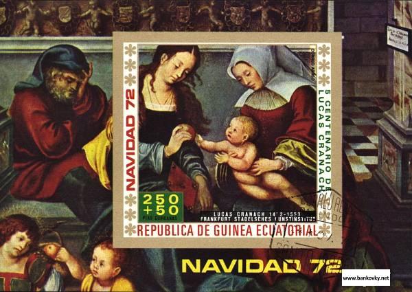 Známky R. Guinea 1972 Madona s dieťaťom