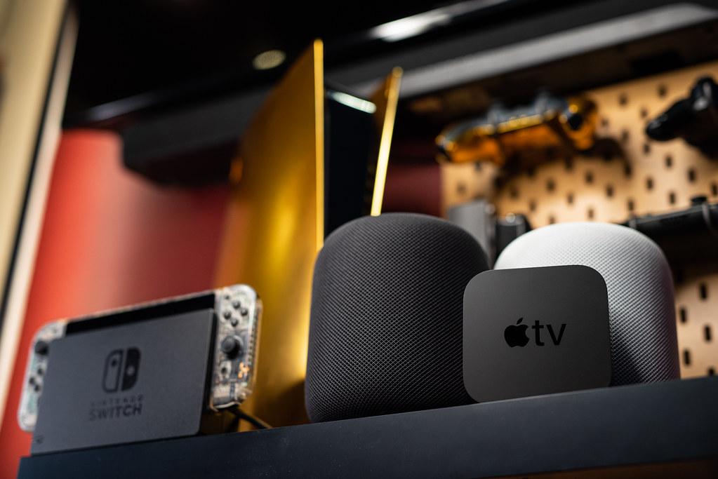 2021 Apple TV 4K & HomePod