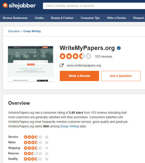 WriteMyPapers review