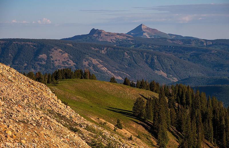 Groundhog Mountain & Lone Cone