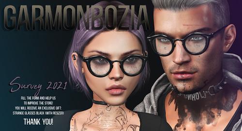 Garmonbozia ::: Survey 2021 and gift!