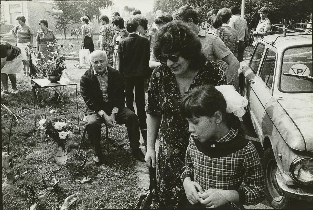 1984. Донецк. Выставка цветов (3)