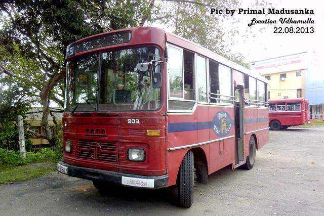 63-2387 Udahamulla  Depot Tata - LP 909/36 D type bus at Udahamulla in 22.08.2013