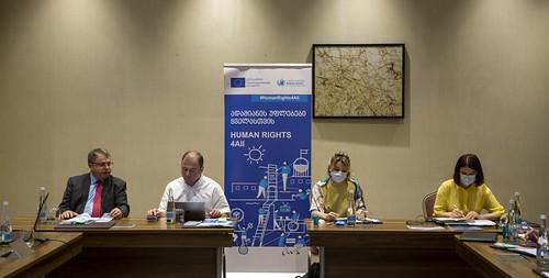 ღონისძიება საქართველოში ადამიანის უფლებათა დამცველი დამოუკიდებელი სახელმწიფო ინსტიტუტების თანამშრომლობასა და გაძლიერებისათვის
