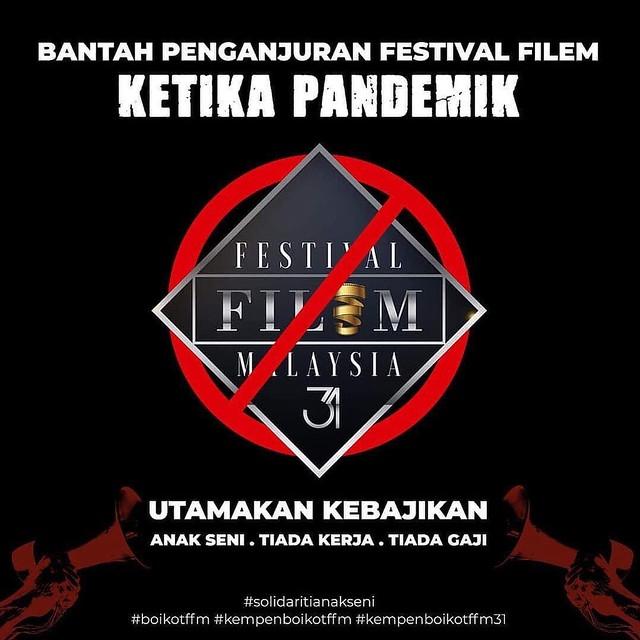 Finas Tetap Teruskan Festival Filem Malaysia Ke-31 Walaupun Ramai Yang Nak Boikot