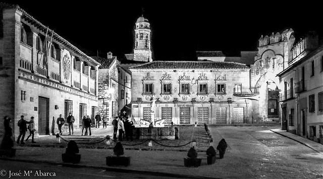 noche en Baeza