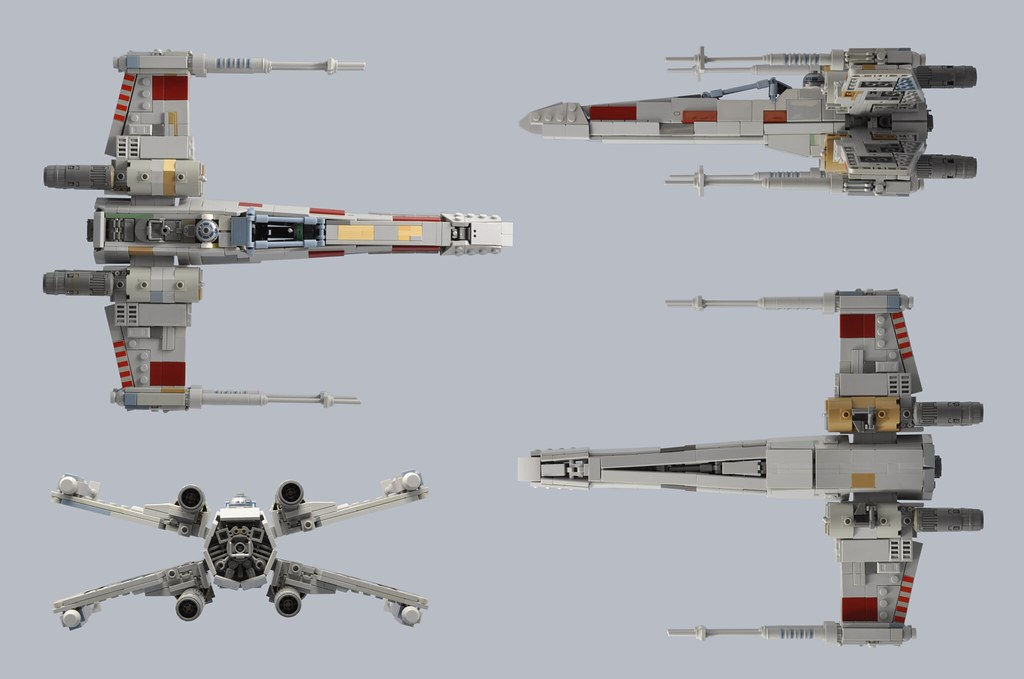T-65 X-Wing: Red 5 (5)