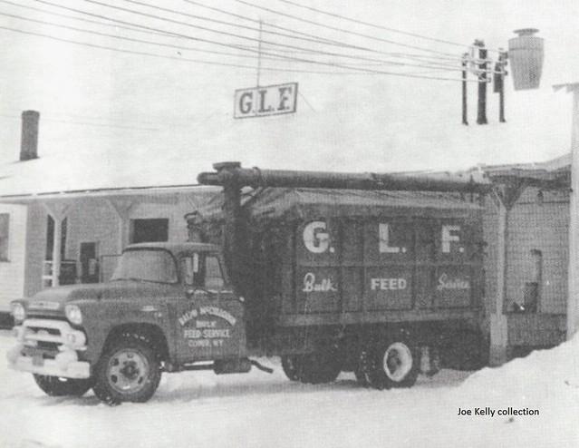 Clymer, NY Grange League Federation 1958-'59 GMC grain truck