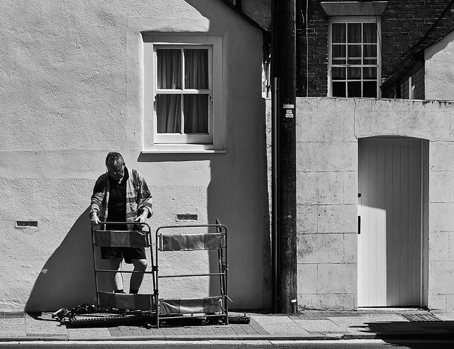 Man at work (in explore)