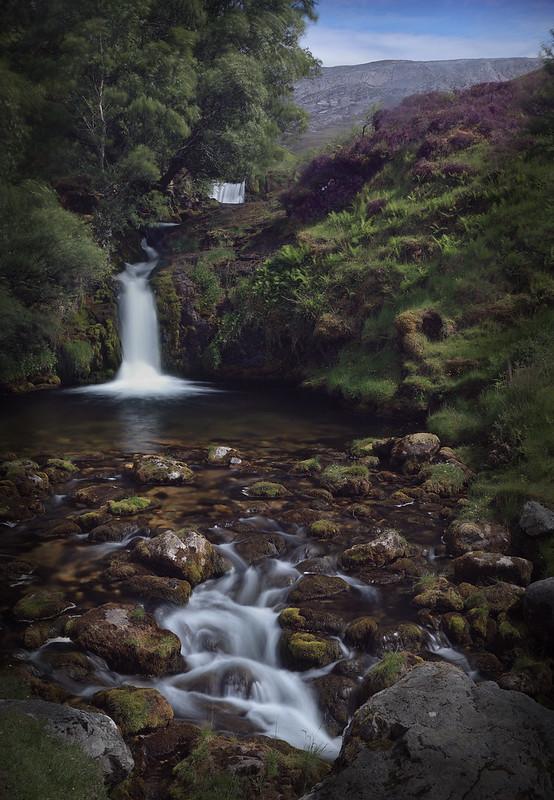 Allt nan Uamh Waterfall