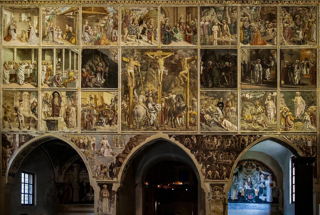 Gli affreschi di Martino Spanzotti