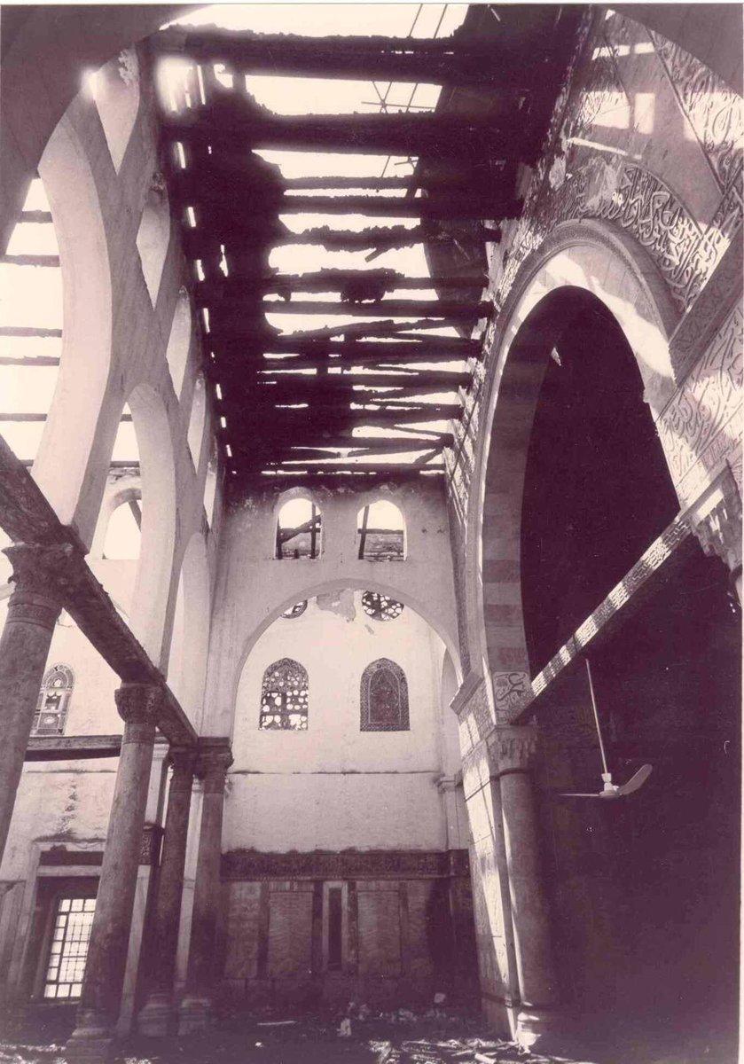 05. Внутри мечети после пожара