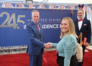 245th U.S. Independence Day Event at U.S. Embassy Jerusalem