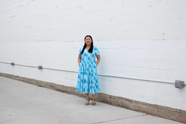 Hey June Lucerne Dress in RCF rayon by replicate then deviate